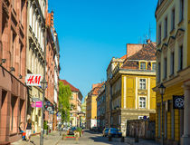 Poland's historic center Stock Image