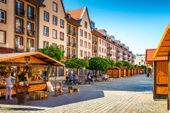 Poland's historic center Royalty Free Stock Image