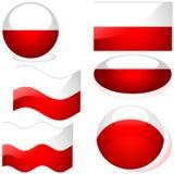 Poland Set Royalty Free Stock Image