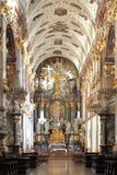 Interior of the Jasna Gora Pauline Order Monastery and sanctuary in Czestochowa, Poland. Poland, Silesia province, Czestochowa - 2014/10/29: Interior of the royalty free stock image