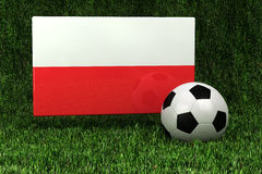 Poland Soccer Royalty Free Stock Image