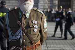 Poland soldier dress Royalty Free Stock Photo