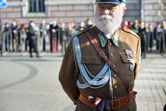 Poland soldier portrait Royalty Free Stock Photography