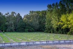 Poland - Soviet war cemetery Royalty Free Stock Photos
