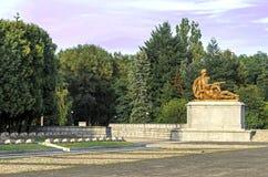 Poland - Soviet war cemetery Stock Image