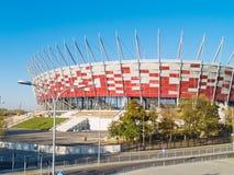 poland stadion warsaw Royaltyfri Bild