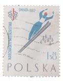 POLAND  A stamp printed in the . SWIATA 1962 Stock Photo