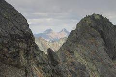 Poland, Tatra Mountains, Zawrat, Belianske Tatry Royalty Free Stock Photos