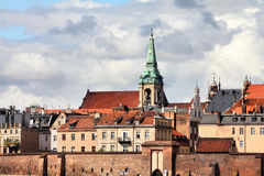 Poland - Torun. City divided by Vistula river between Pomerania and Kuyavia regions. Old town skyline. The medieval old town is a UNESCO World Heritage Site Royalty Free Stock Images