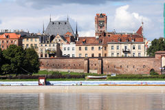 Poland - Torun. Old town is a UNESCO World Heritage Site. Cathedral basilica Royalty Free Stock Photos