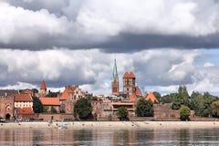 Poland - Torun. Torun old town in Poland, a UNESCO World Heritage Site Royalty Free Stock Photo