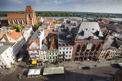 Poland - Torun, city divided by Vistula river between Pomerania Royalty Free Stock Image