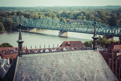 Poland - Torun, city divided by Vistula river between Pomerania Royalty Free Stock Photography