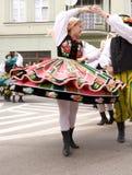 Poland traditional folk group Stock Photo