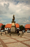 Poland - Tykocin,July 2016.Czarniecki Monument in Tykocin, July Royalty Free Stock Images