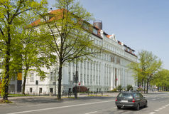 Poland, Upper Silesia, Gliwice, Administrative Court Building Royalty Free Stock Photo