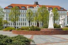 Poland, Upper Silesia, Gliwice, Administrative Court Building Stock Image