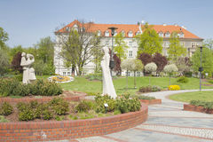 Poland, Upper Silesia, Gliwice, Doncaster Square Royalty Free Stock Images