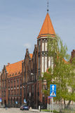 Poland, Upper Silesia, Gliwice, Post Office Building Royalty Free Stock Image