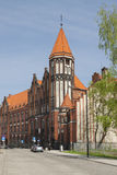 Poland, Upper Silesia, Gliwice, Post Office Building Stock Photo