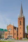 Poland, Upper Silesia, Gliwice, St Barbara Church Stock Photos