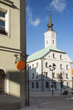 Poland, Upper Silesia, Gliwice, Town Hall Stock Photos