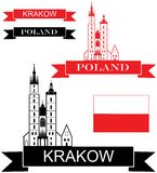 Poland. Vector illustration (EPS 10 Royalty Free Stock Images