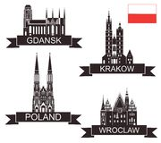 Poland. Vector illustration (EPS 10 Royalty Free Stock Photography