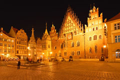 Poland, Wroclaw, Old Market Royalty Free Stock Photography