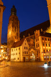 Poland, Wroclaw, Old Market Royalty Free Stock Image