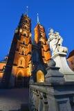 Poland, Wroclaw, Ostrow Tumski Stock Photo