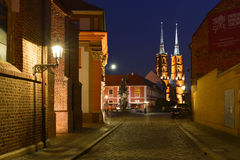 Poland, Wroclaw, Ostrow Tumski Royalty Free Stock Photos