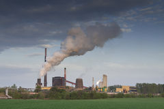 Poland, Zabrze, Biskupice Coking Plant Stock Photography