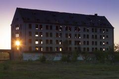 Poland, Zachodniopomorskie, Borne Sulinowo, Ruins of a Military Stock Photos