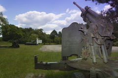 Poland, Zachodniopomorskie, Zdbice, Military Gear Open Air Museu Stock Photography