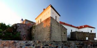 Polanok城堡市Mukachevo位于乌克兰。 库存图片