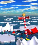 Polar_accident.jpg Royalty Free Stock Images
