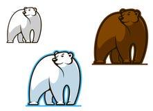 Free Polar And Brown Bear Royalty Free Stock Image - 29017476