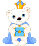 The Polar Bear as a Biblical Magi Royalty Free Stock Photo