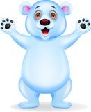 Polar bear cartoon Royalty Free Stock Photo