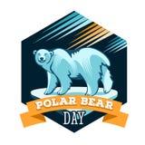 Polar Bear Day Royalty Free Stock Photo