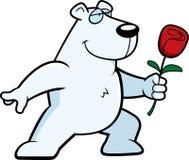 Polar Bear Flower Stock Photography