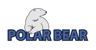 Polar bear illustration Royalty Free Stock Photos