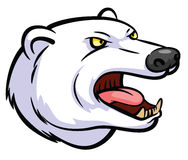 Polar Bear Mascot Stock Image