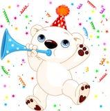 Polar bear party Royalty Free Stock Photography