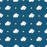 Polar bear pattern Stock Images