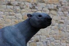 Polar Bear at Tower of London Royalty Free Stock Photography