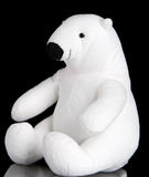 Polar bear toy Royalty Free Stock Photos