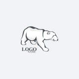 polar björnlook också vektor för coreldrawillustration Royaltyfria Bilder