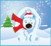 Polar Christmas Snow Stock Photography